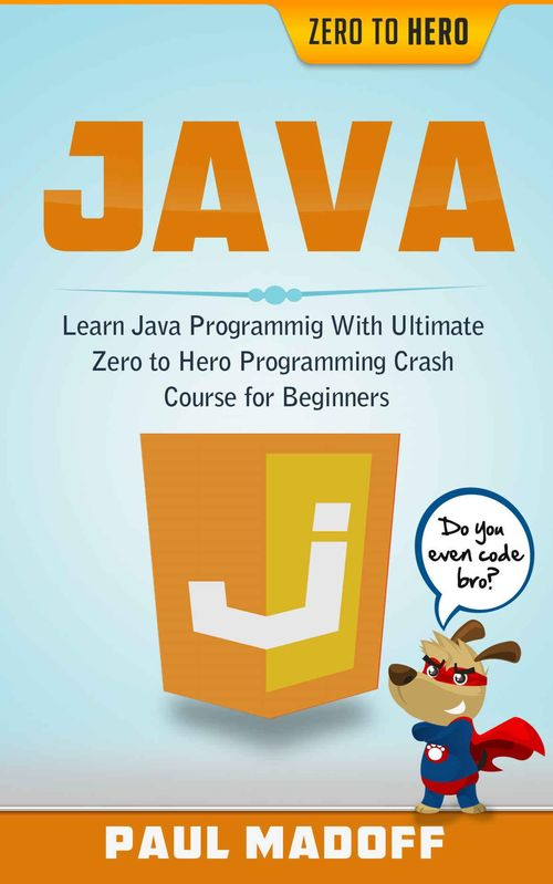 Java: Learn Java Programming With Ultimate Zero to Hero Programming Crash Course for Beginners free download