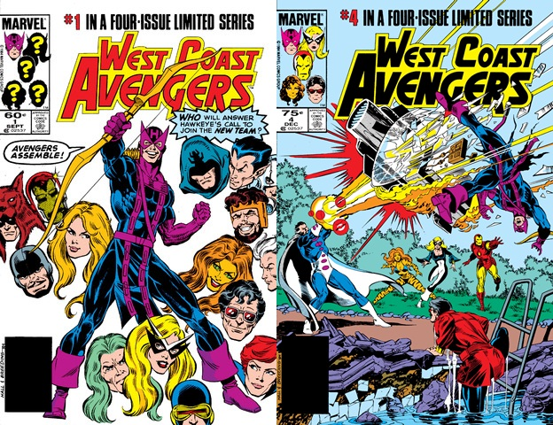 West Coast Avengers #1-4 (1984) Complete free download