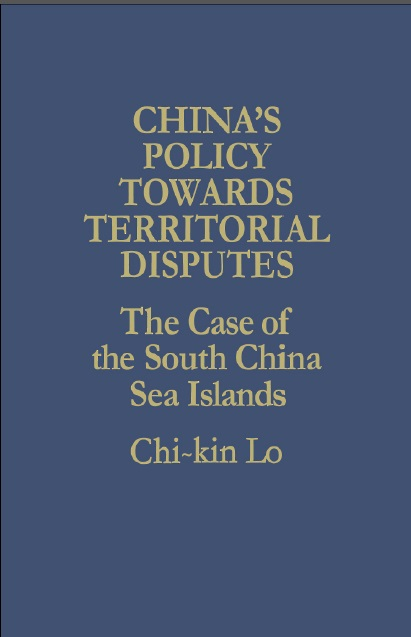 China's Policy Towards Territorial Disputes: The Case of the South China Sea Islands free download