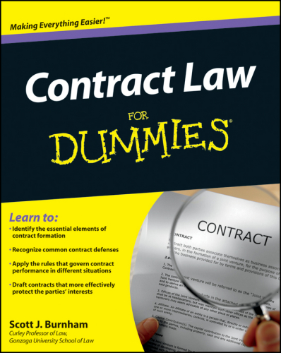 Contract Law For Dummies free download