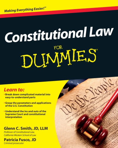 Constitutional Law For Dummies free download