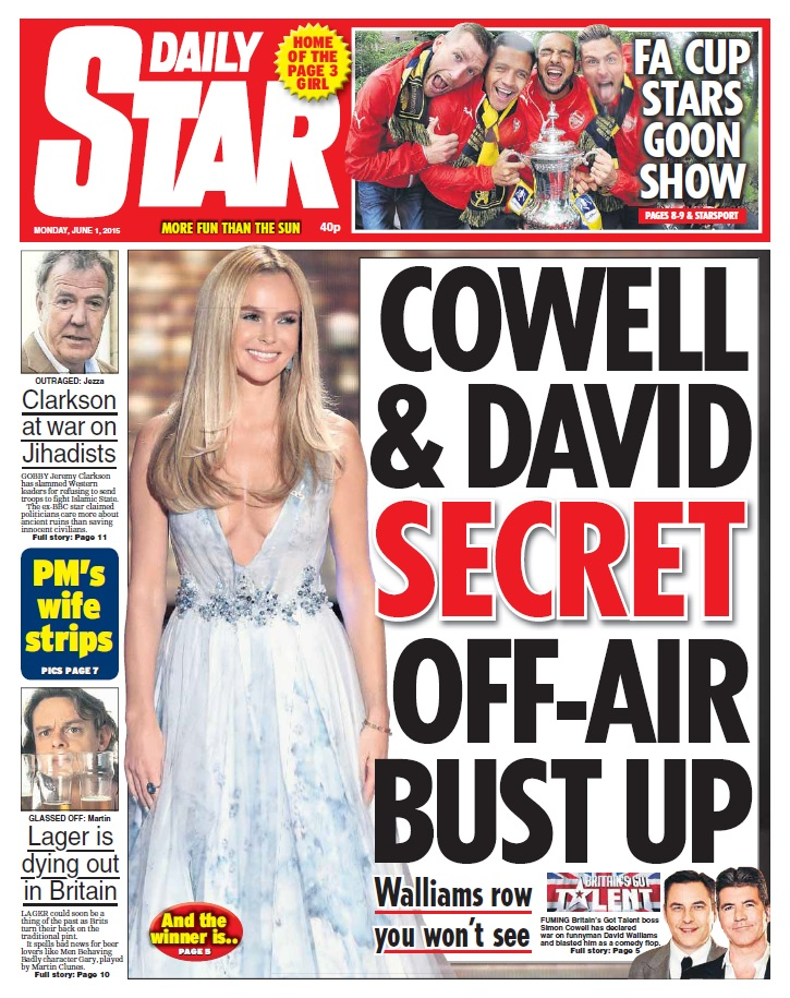 Daily Star - 1 June 2015 free download
