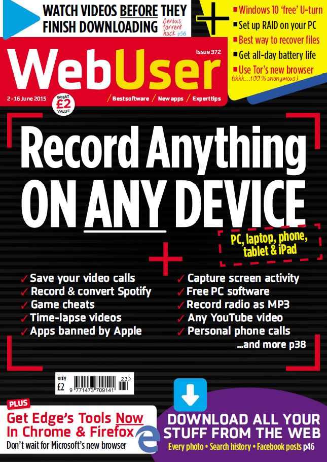 Web User - June 3rd, 2015 free download