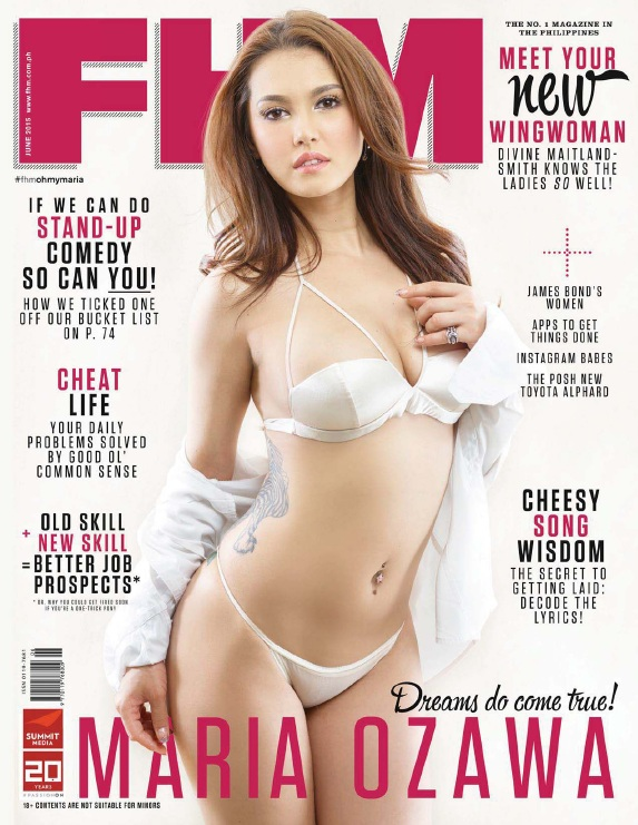 FHM Philippines - June 2015 free download