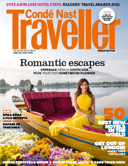 Conde Nast Traveller India Magazine June/July 2015 free download