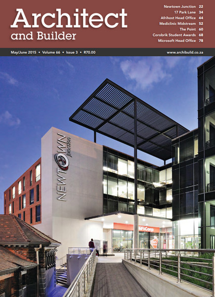 Architect and builder south africa may june 2015 free for Free architecture magazines