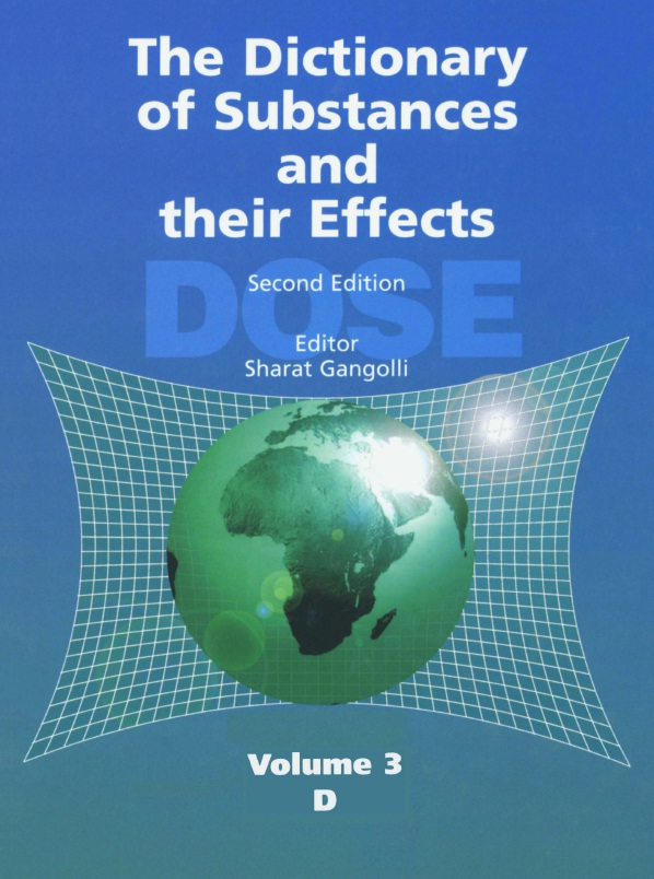 The Dictionary of Substances and Their Effects, Second Edition (DOSE), Volume 03 - D free download