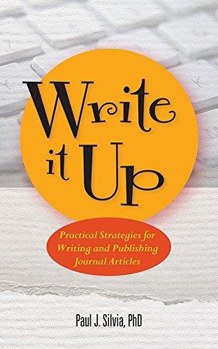 Write It Up!: Practical Strategies for Writing and Publishing Journal Articles free download
