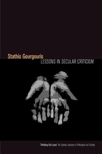Lessons in Secular Criticism free download