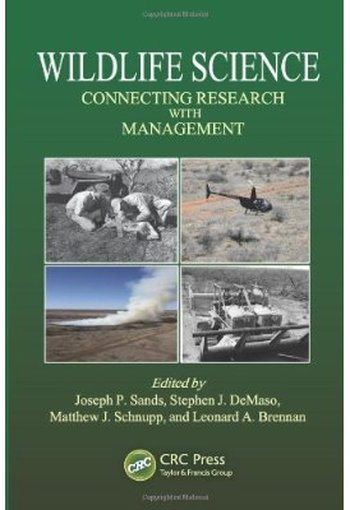 Wildlife Science: Connecting Research with Management free download