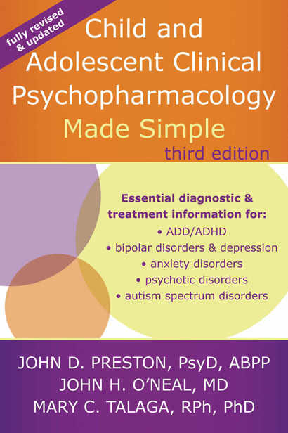 Child and Adolescent Clinical Psychopharmacology Made Simple, Third Edition free download