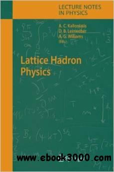 Lattice Hadron Physics (Lecture Notes in Physics) free download