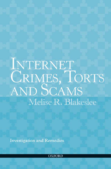 an introduction to the issue of electronic crime on the internet The acpo, e-crime involves the use of networked computer or internet technology to commit or facilitate the commission of crime (association of chief police officers, 2009.