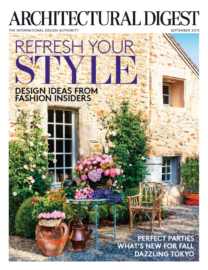 Architectural Digest September 2015 Free Ebooks Download