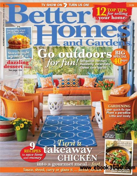 Better homes and gardens australia november 2015 free Better homes and gardens download