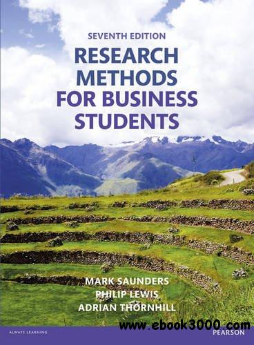 Research method for business students