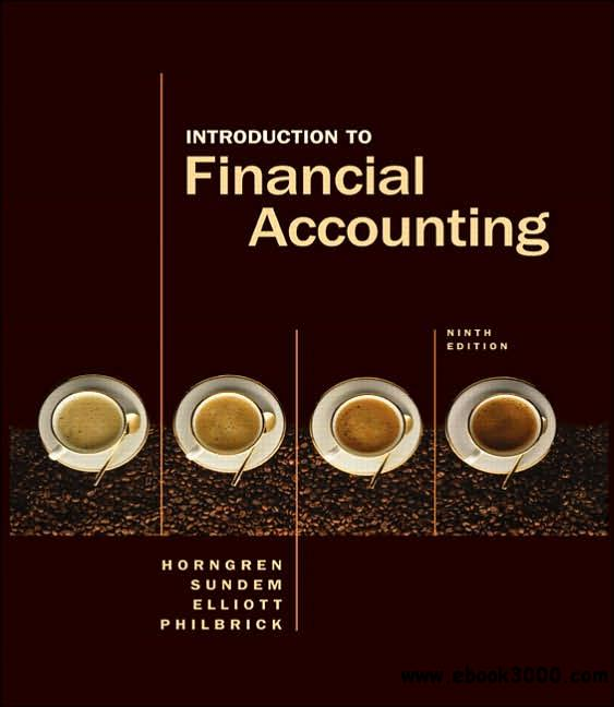 introduction to financial accounting 9th edition free download