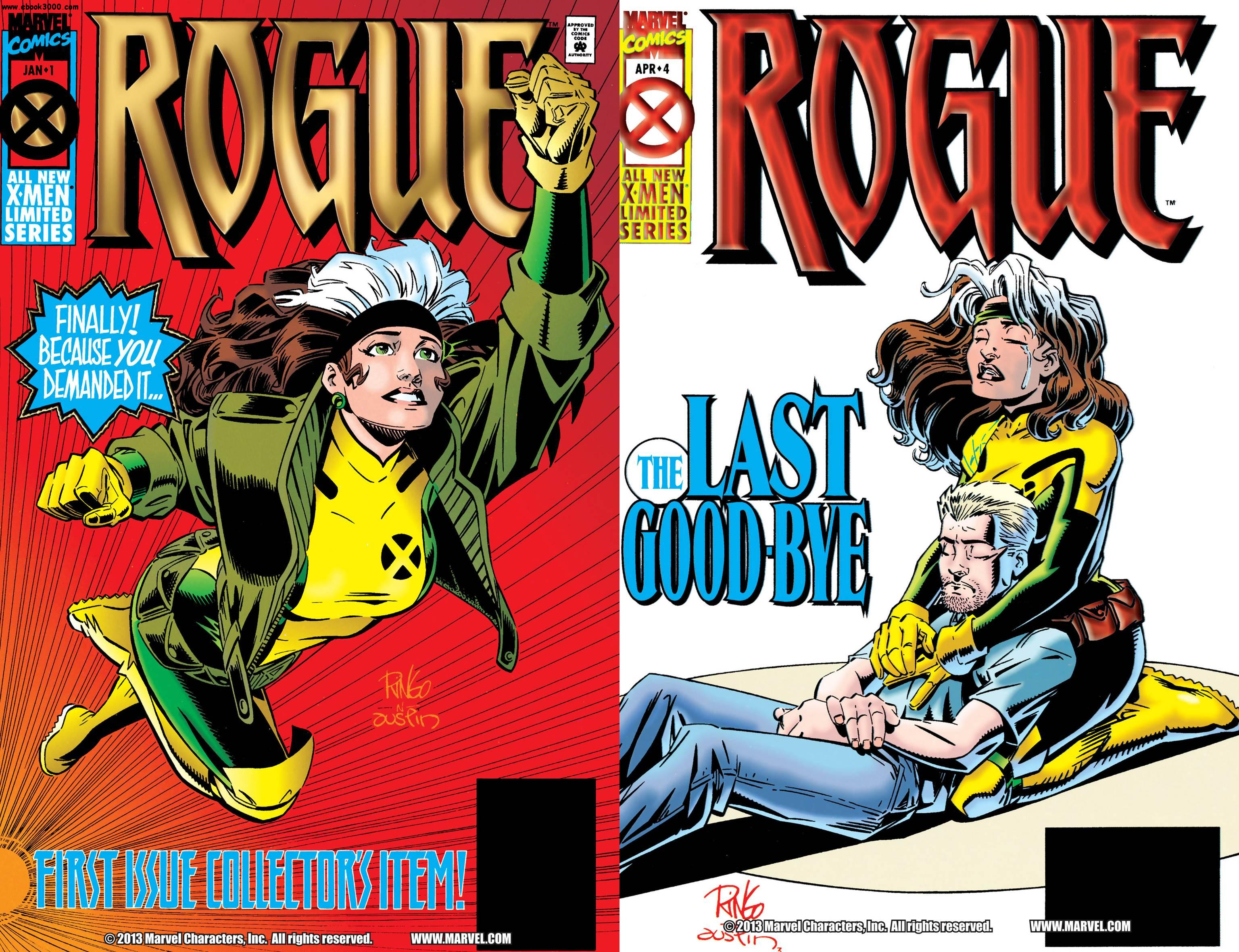 Rogue Vol.1 #1-4 (1994-1995) Complete free download