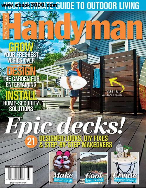 New Zealand Handyman - February 2016 free download
