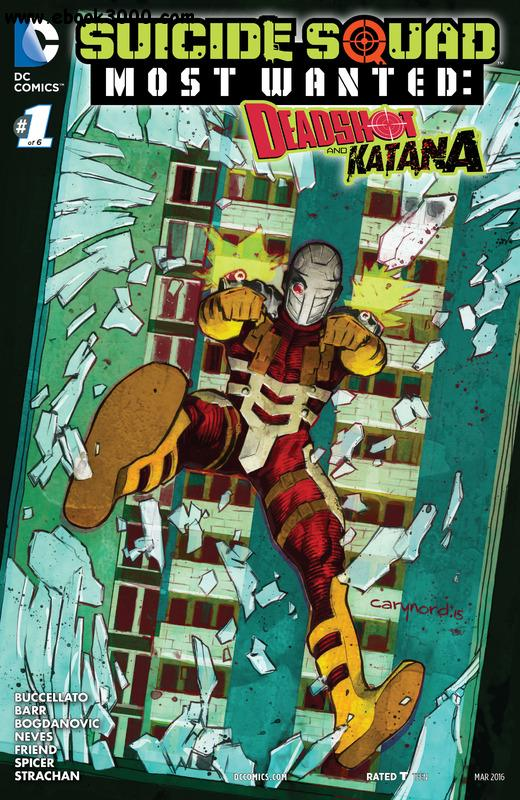 Suicide Squad Most Wanted - Deadshot & Katana 01 (of 06) (2016) free download