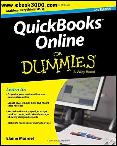 QuickBooks Online For Dummies free download