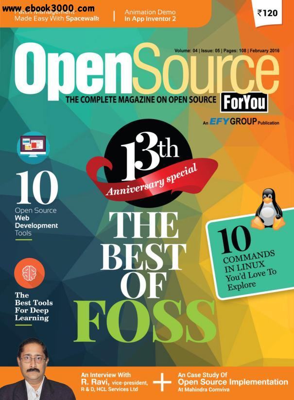 Open Source For You - February 2016 free download