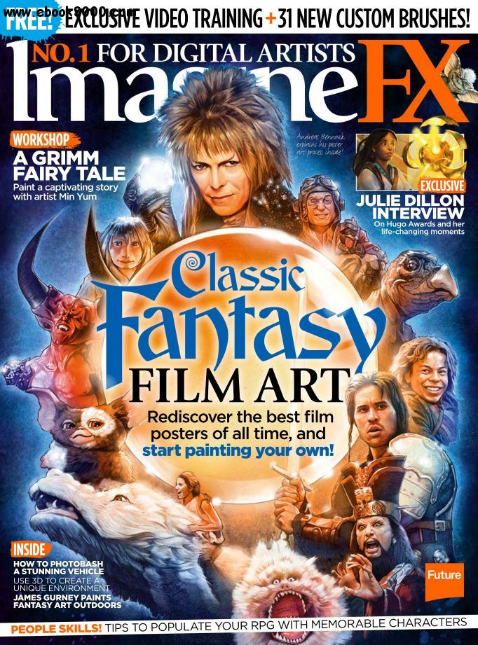 ImagineFX - March 2016 free download