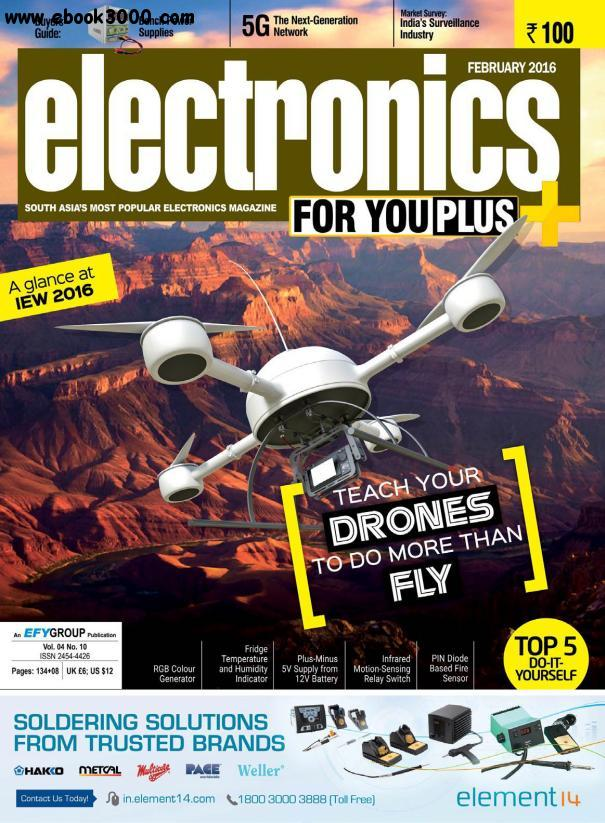 Electronics For You - February 2016 free download