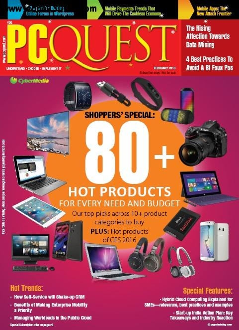 PCQuest - February 2016 free download