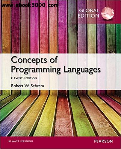Concepts of Programming Languages, Global Edition free download