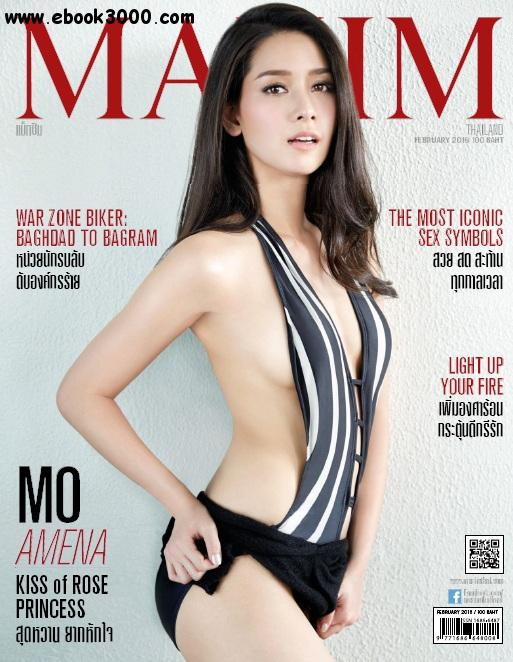 Maxim Thailand - February 2016 free download