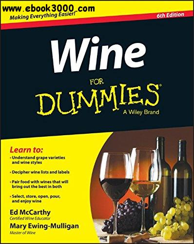 Wine For Dummies, 6th Edition free download