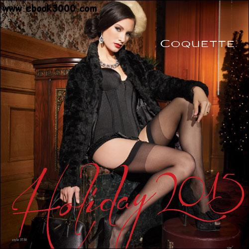 Coquette - Holiday Lingerie Catalog 2015 free download