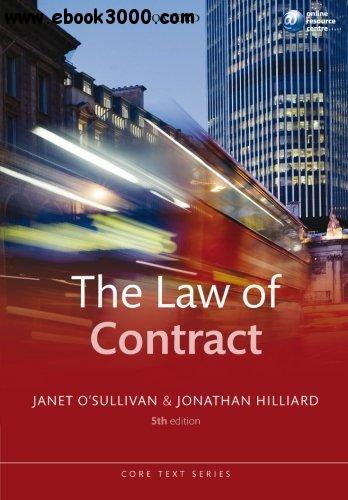 The Law of Contract free download
