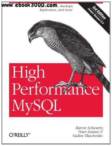 High Performance MySQL: Optimization, Backups, and Replication, 3rd edition free download
