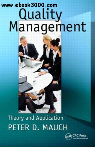Quality Management: Theory and Application free download