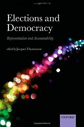 Elections and Democracy: Representation and Accountability free download