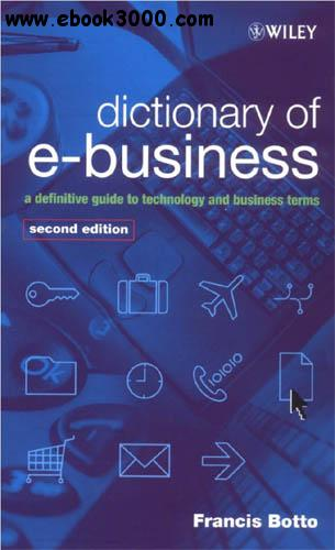 Dictionary of e-Business free download