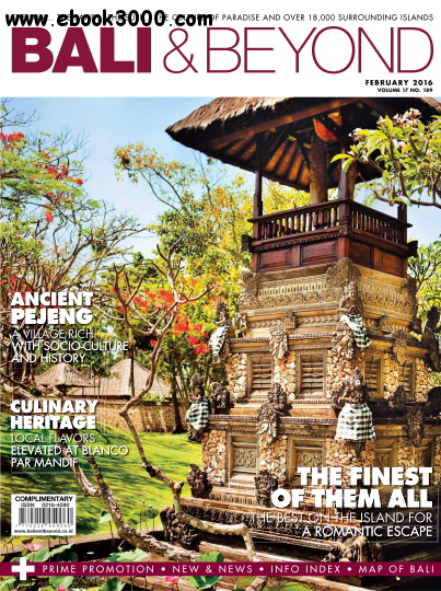 Bali & Beyond Magazine - February 2016 free download