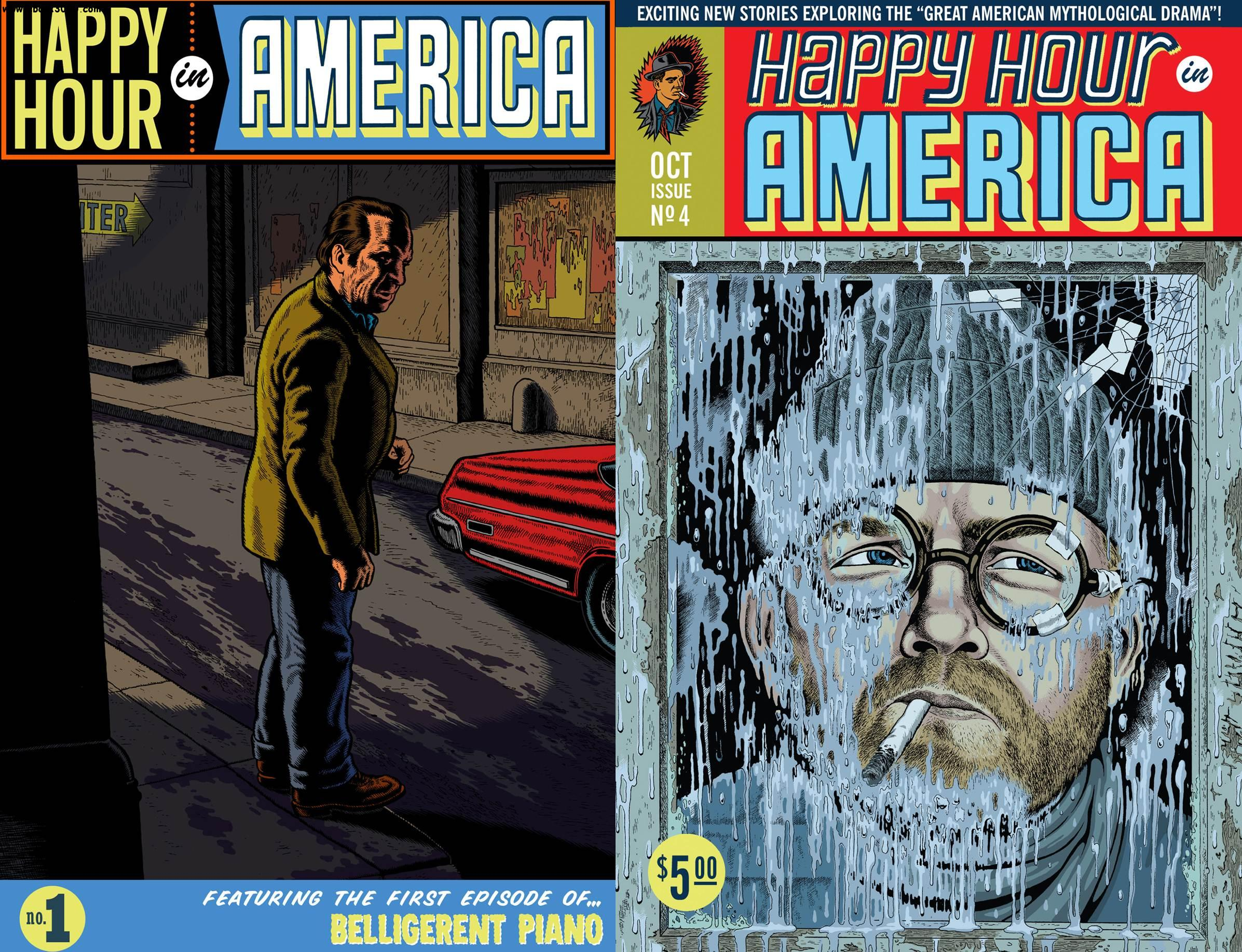 Happy Hour in America #1-4 (2003-2012) free download