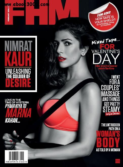 FHM India - February 2016 free download