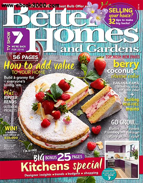 Better Homes And Gardens Australia February 2015 Free Download Links