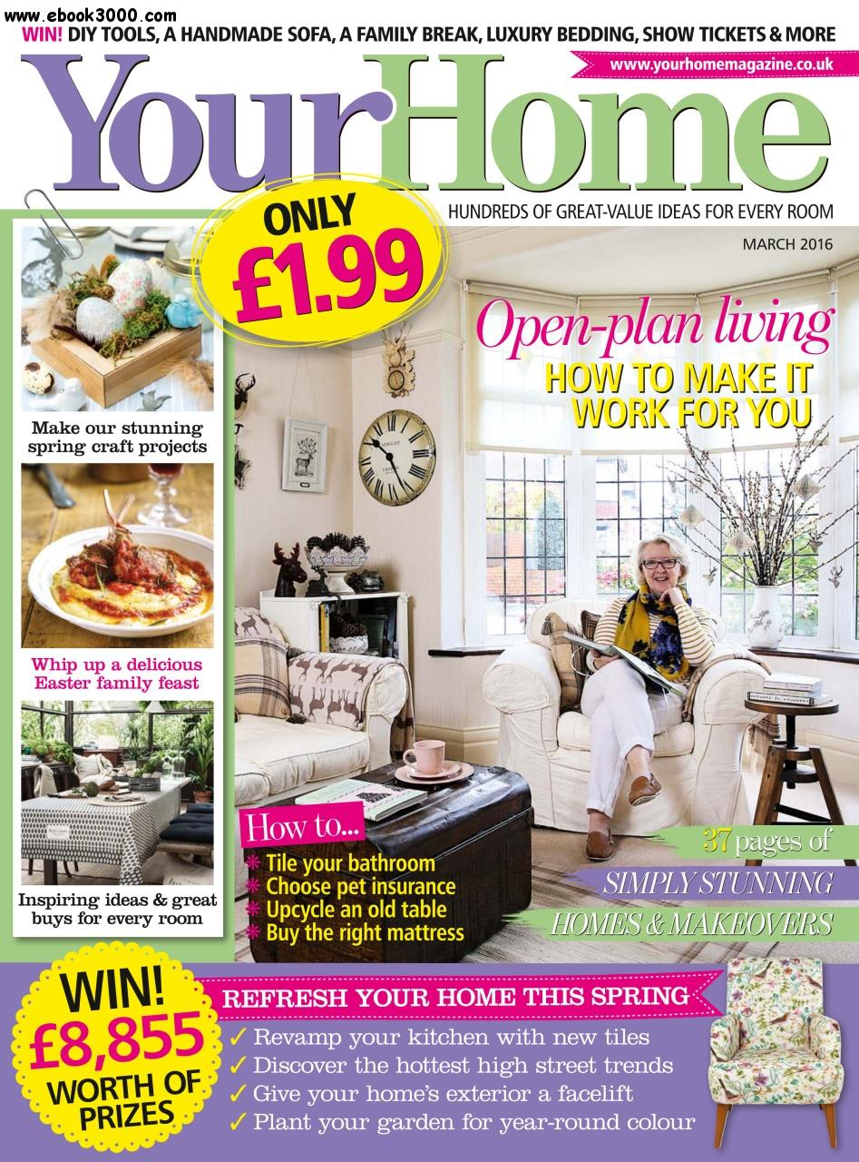 Your Home - March 2016 free download
