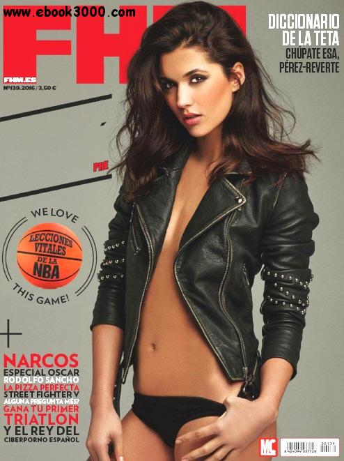 FHM Spain - February 2016 free download