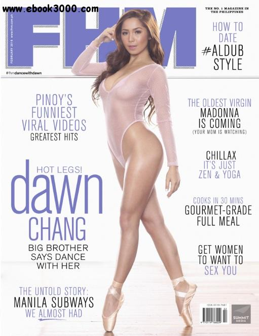 FHM Philippines - February 2016 free download