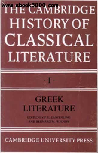 The Cambridge History of Classical Literature free download