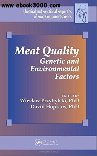 Meat Quality: Genetic and Environmental Factors free download