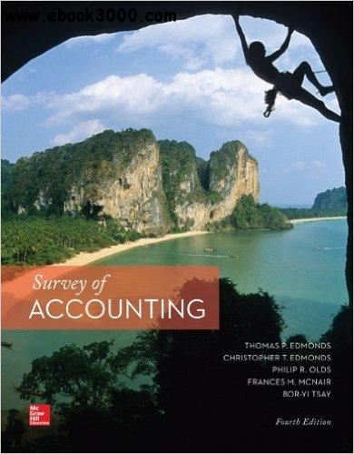 Survey of Accounting, 4th edition free download