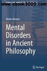Mental Disorders in Ancient Philosophy free download