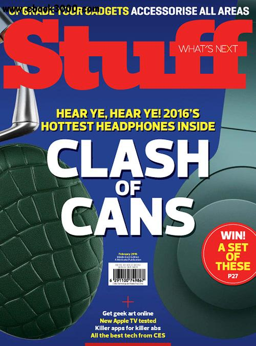 Stuff Middle East - February 2016 free download